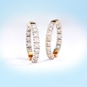 Diamond Earclip